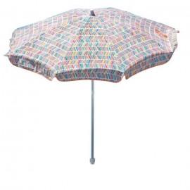 EZPELETA Parasol inclinable Bora  Ř 180 cm  Multicolore Socle non inclus