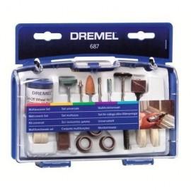 DREMEL Kit pour travaux généraux de 52 pieces 687