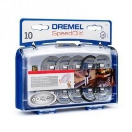 DREMEL 10 disques a tronçonner adapt EZ Speedclic
