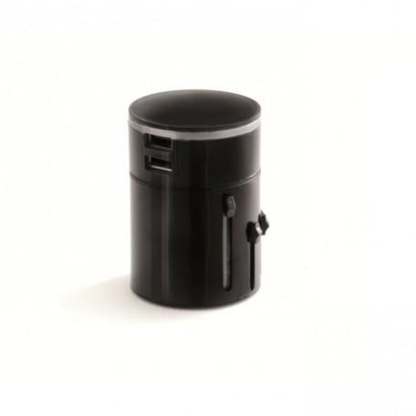 SCS SENTINEL Adaptateur universel de voyage lumineux avec ports USB