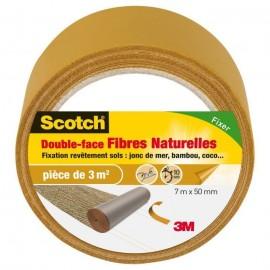 3M SCOTCH Doubleface  7 m x 50 mm  Fibre naturelle