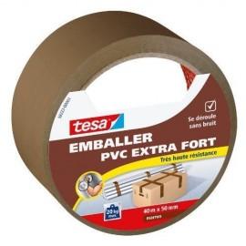 TESA Ruban  PVC extra fort  40m x 50mm  Marron