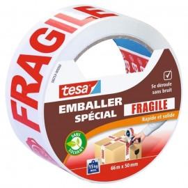 TESA Ruban adhésif d\'emballage Fragile