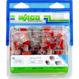 WAGO Pack 100 bornes 273 23 et 5