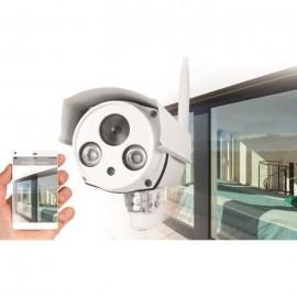 AVIDSEN Caméra de surveillance Visia connectée IP extérieure Wifi HD