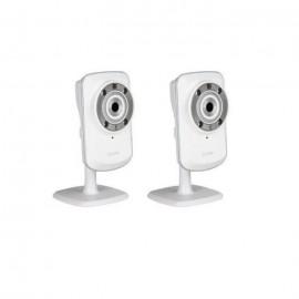 Dlink Pack de 2 caméras IP sans fil DCS932L