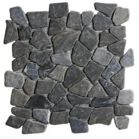 Galet Pathoeon Marbre noir  30 x 30 cm