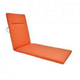 EZPELETA Coussin bain de soleil Green  188 x 60 cm  Orange corail