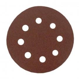 Lot de 6 disques abrasifs pour poncer  Ř 115 mm  Gros moyen 80