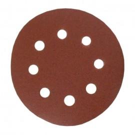 Lot de 6 disques abrasifs pour finitions  Ř 115 mm  Grain fin 120