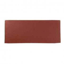 Lot de 6 rectangles abrasifs pour finition  93 x 230 mm  Grain fin 120