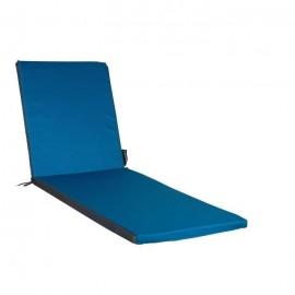 EASY FOR LIFE Coussin Bain de soleil Top Pratik Bleu Petrole/ardoise  186x55x5cm