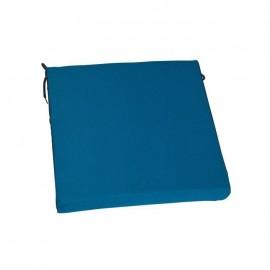 JARDIN PRIVE Coussin de chaise Top COLORS 38,5x38,5x5cm  Pétrole