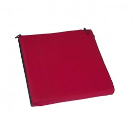 JARDIN PRIVE Coussin de chaise Top COLORS 38,5x38,5x5cm  Cerise