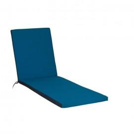 JARDIN PRIVE Coussin Bain de soleil 186x55x5cm  Bleu pétrole