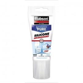 Mastic bain et cuisine Rubson  Tube 150 ml  Transparent
