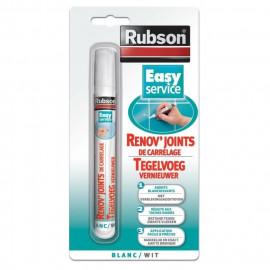 RUBSON Renov\'Joints de carrelage Blanc 7ml