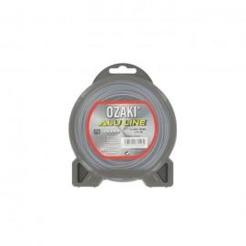 JARDIN PRATIQUE Fil nylon alu line OZAKI pour débroussailleuse  Ř 1,60  mm  L 15 m