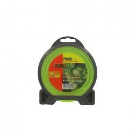 JARDIN PRATIQUE Fil nylon rond premium line OZAKI pour débroussailleuse  Ř 2 mm  L 15 m