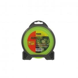 JARDIN PRATIQUE Fil nylon rond premium line OZAKI pour débroussailleuse  Ř 2,40 mm  L 15 m