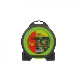 JARDIN PRATIQUE Fil nylon rond premium line OZAKI pour débroussailleuse  Ř 2,7 mm  L 15 m