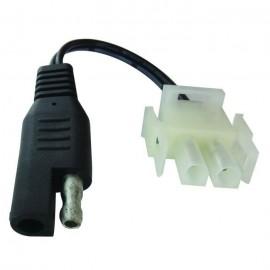 JARDIN PRATIC Raccord spécifique SAE/MOLEX pour chargeur de batteries