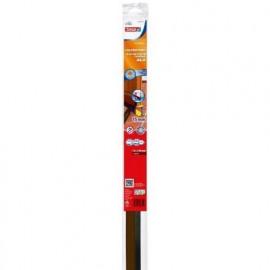 TESA Joint bas de porte adhésif  Spécial sol  1 m x 43 mm x 15 mm  Marron