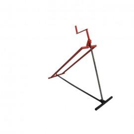 JARDIN PRATIC Cric a vis pour tondeuse Capacité : 300 Kg  Angle max : 42