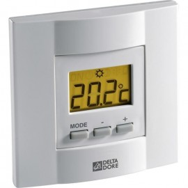 DELTA DORE Thermostat d\'ambiance filaire a touches pour chaudiere TYBOX 21