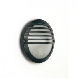 CUADRADO Applique murale extérieur en métal finition noire