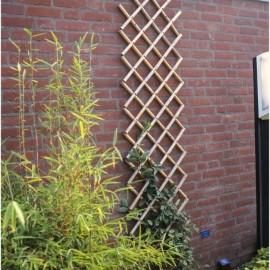NATURE Treillis extensible en bambou 100x200cm  Marron