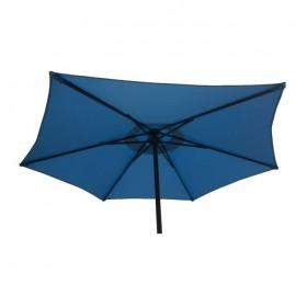 FINLANDEK Parasol droit en acier 2m  Bleu  AURINKO