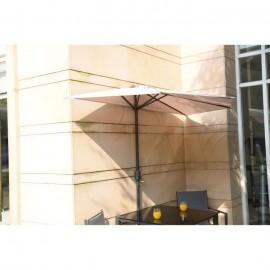Parasol de balcon 270 cm  Pied non inclus  Beige