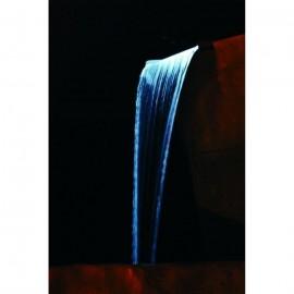 Lame d\'eau avec éclairage Niagara 60 Led Inox