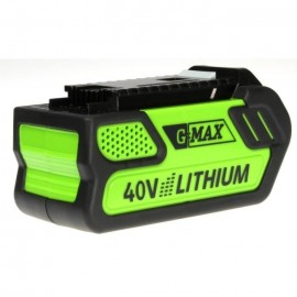 GREENWORKS TOOLS Batterie LiIon  40 V  4 Ah  Niveau de charge indiqué par LED